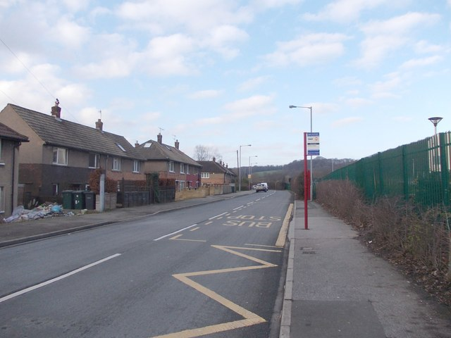 Higher Coach Road - viewed from Glenwood Avenue