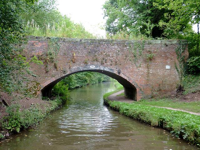 Siddall's Bridge near Meaford, Staffordshire