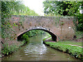 SJ8935 : Siddall's Bridge near Meaford, Staffordshire by Roger  Kidd