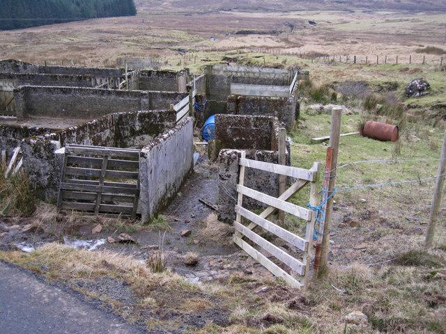 Sheep dip in Mugeary