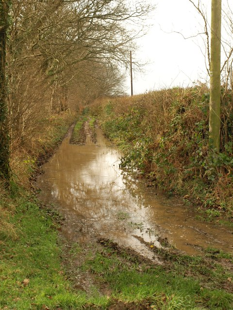 Flooded track, Hartridge