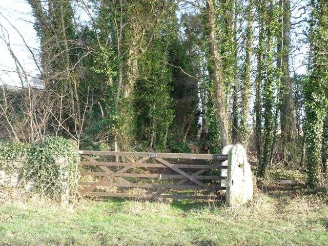 Private entrance to Bilham Park