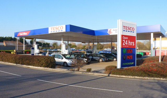 Filling Station at Tesco Superstore