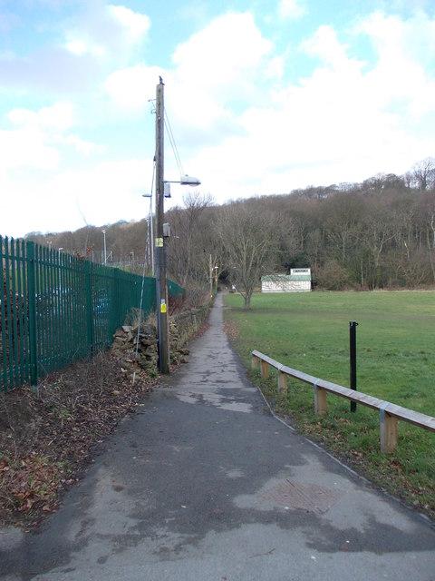 Bridleway - Higher Coach Road