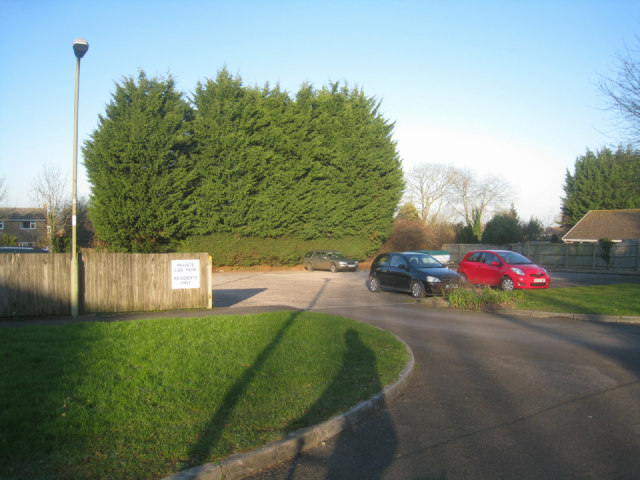 Residents parking - Glamis Close