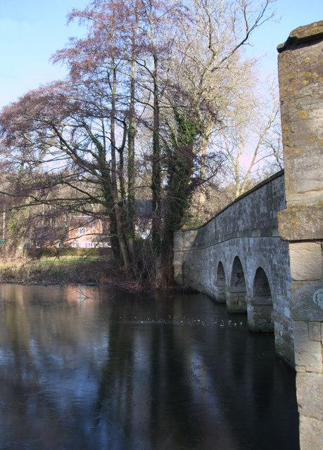 Bridge, The Lake, Buscot Park