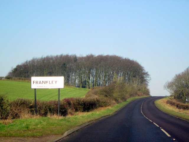 Frankley -  Egghill Lane Approaching The Beeches