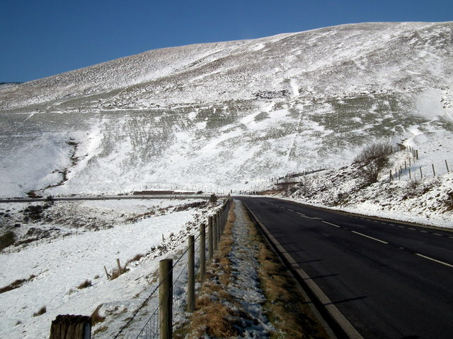 Beside the A44 road above Nant Lladron