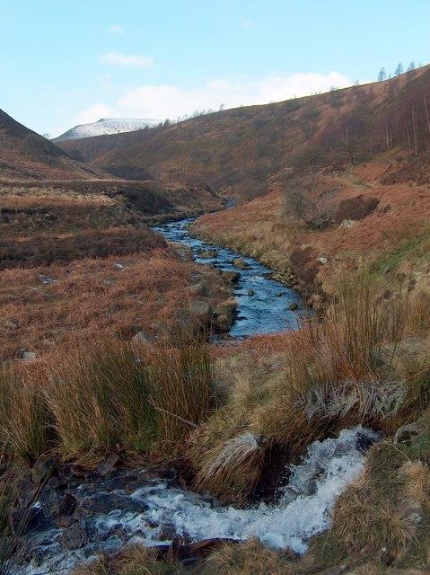 Broadhead Stream feeding in to the River Derwent