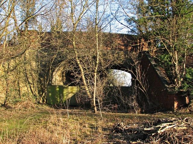 Stapleford: Great Eastern Railway bridge