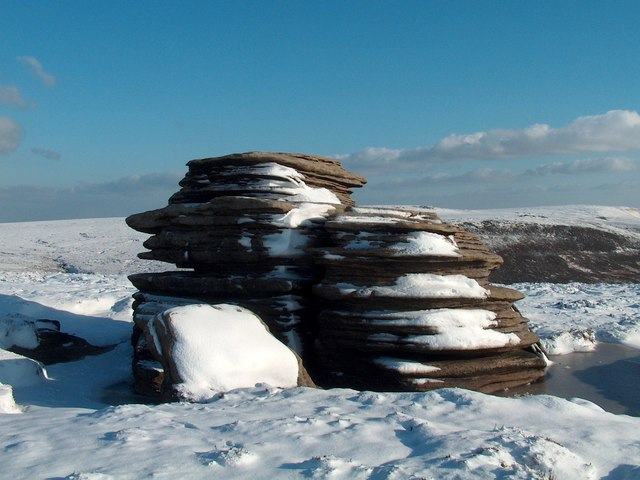 Another view of The Horse Stone, Howden Moor