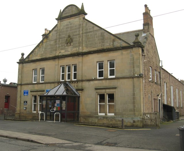 The Volunteer Hall in Duns