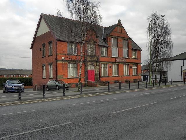 St James's Church Institute Building, Eaves Lane