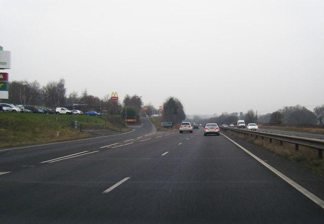 A55 westbound services