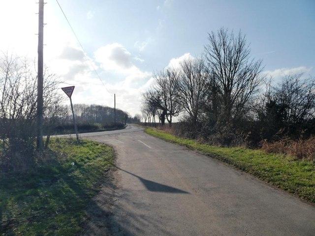 Street Lane junction