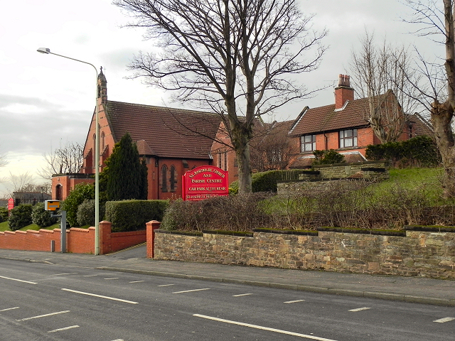 St Joseph's RC Church and Parish Centre, Harper's Lane