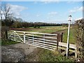 SE4708 : Stile onto Hooton Pagnell Common by Christine Johnstone