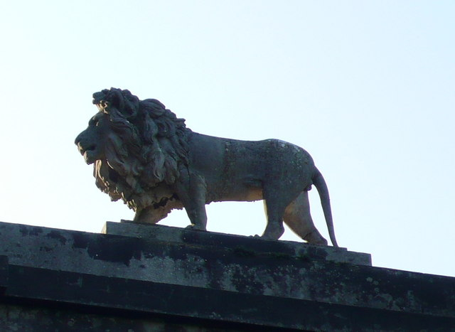 Lion on Lion Gate
