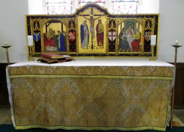 Altar, The Church of St Michael and All Angels