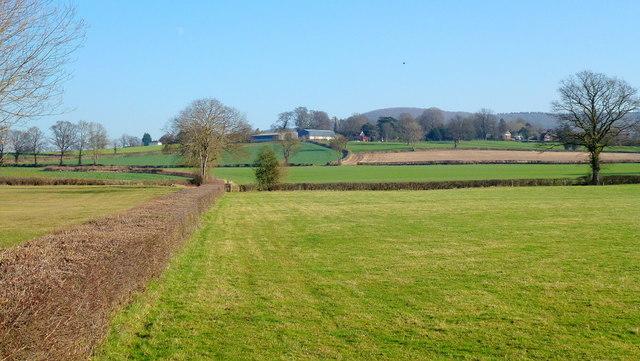 View to Calver Hill