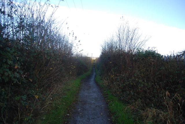 Bridleway north