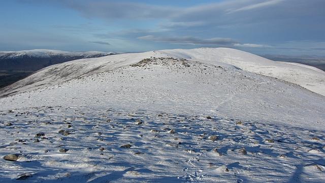North ridge of Sgòran Dubh