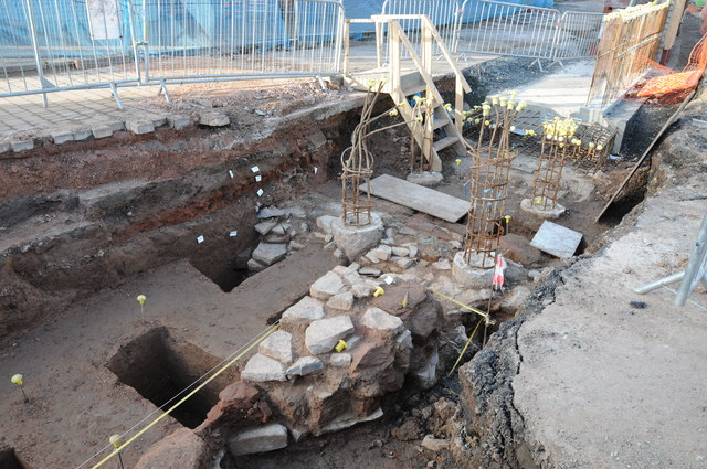 Archaeological remains, Upton upon Severn