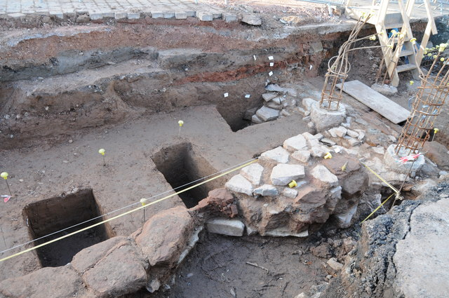 Archaeological remains in Upton upon Severn
