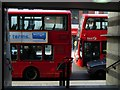 TQ3183 : Buses on High Street, Islington by Stephen McKay