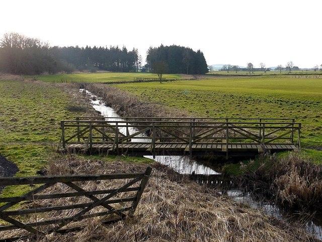River Pont near The Lake, Matfen Park