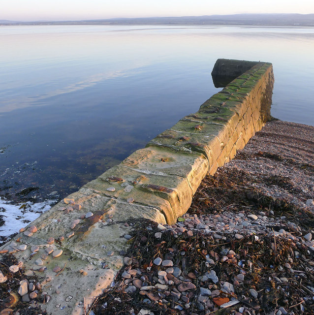 Stone Jetty at Chanonry Point