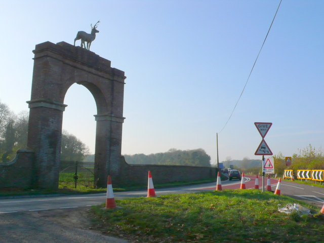 Stag Gate Charborough Park