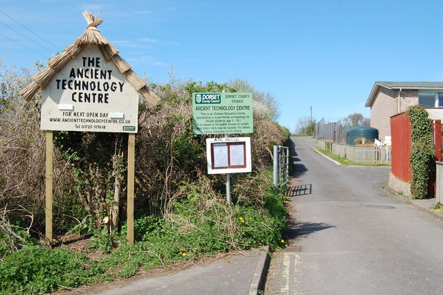 Entrance to the Ancient Technology Centre Cranborne
