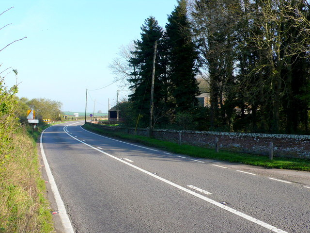 The A31 at East Almer Farm