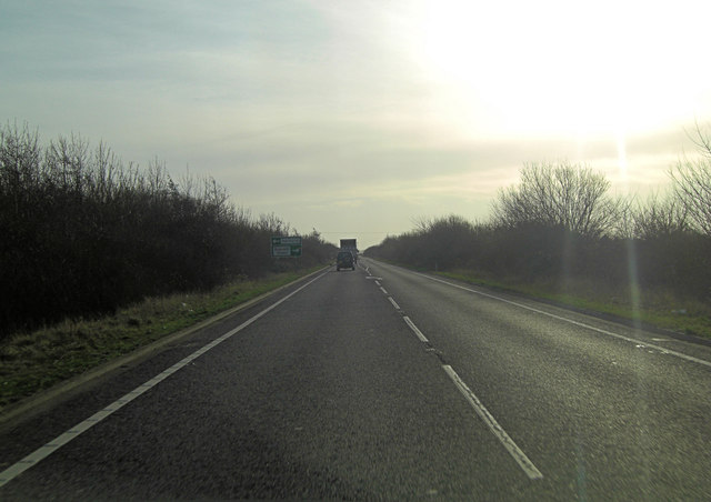 A2070 south of Snave