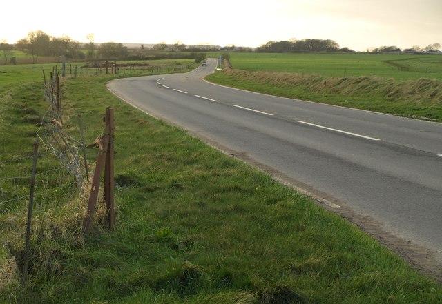 Road past Smeatharpe airfield