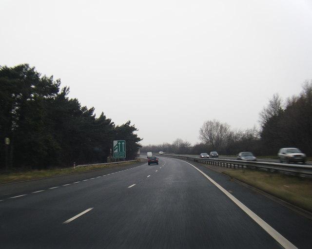 A55 at Pensarn
