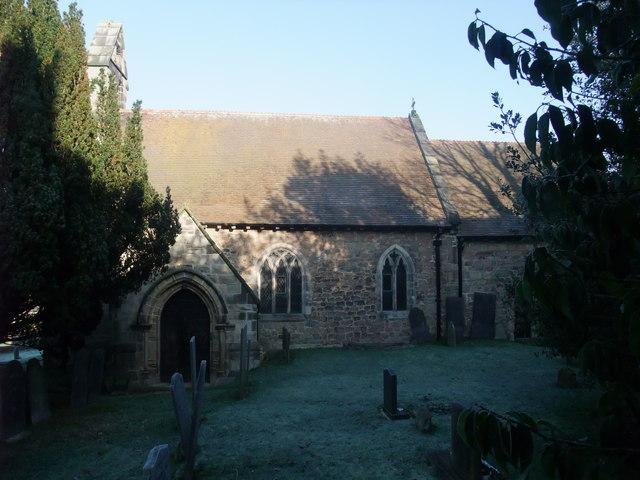 Church of St Michael, Stanton by Bridge