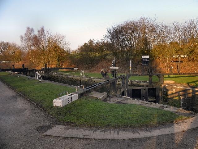 Johnson's Hillock Lock Number 64
