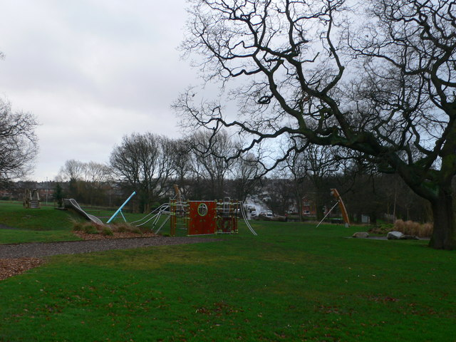 Children's play area near the Town Hall, Runcorn