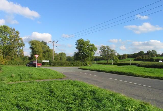 Nottingham Road/Loughborough Road/Walton Lane/Barrow Road junction