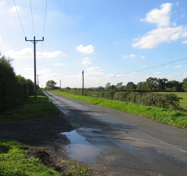 Walton Lane westwards