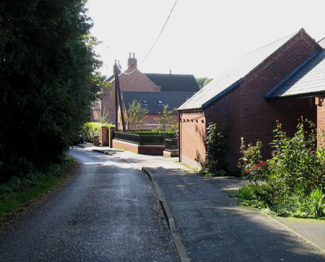 New Lane westwards
