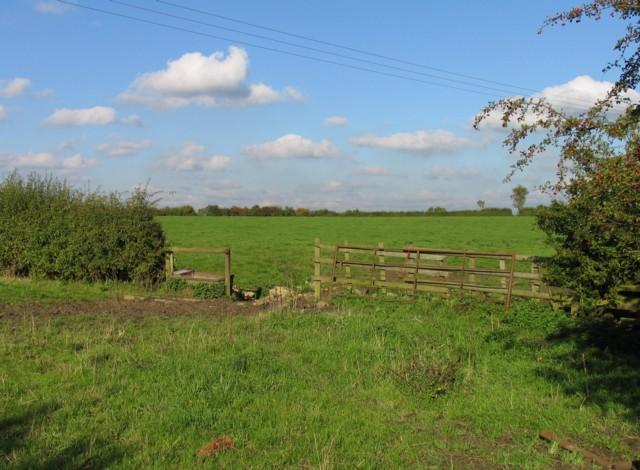 Gap between fields