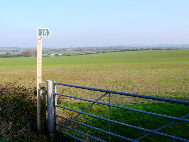 Fields near Lincoln Farm