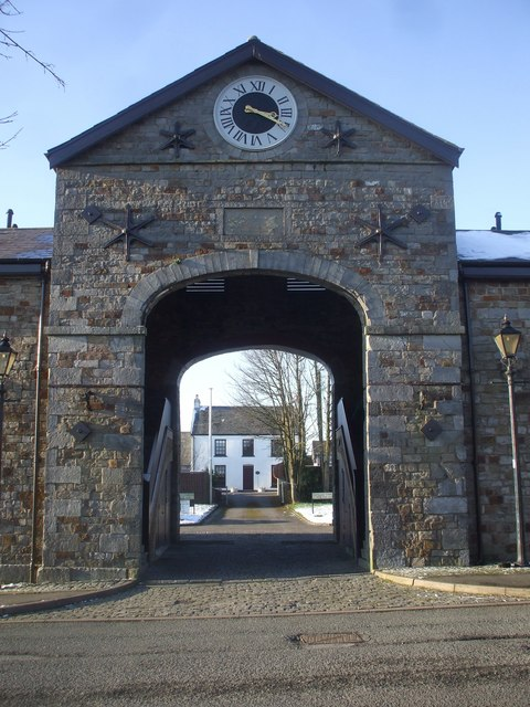 Entrance to the Dowlais Stables