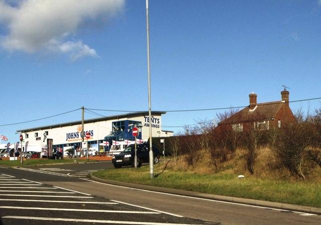 John's Cross Motorcaravan and camping centre, East Sussex