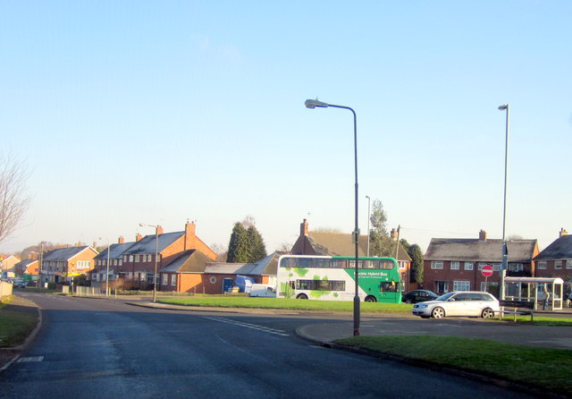 Bartley Green Field Lane Bus Terminus