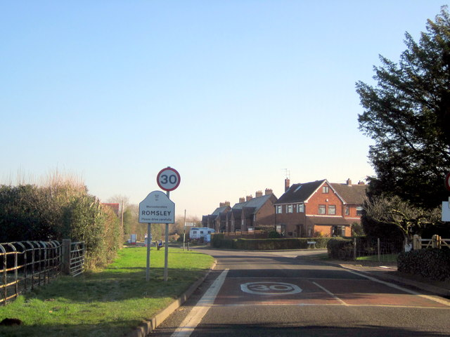 Romsley St Kenelm's Road Village Sign