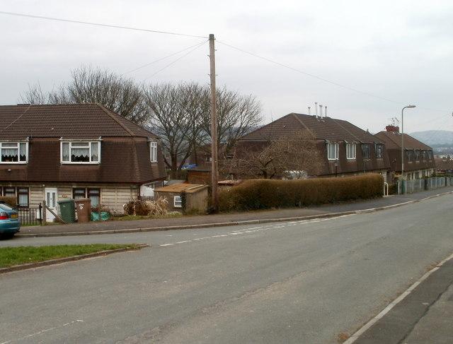 Bryn Goleu houses, Bedwas